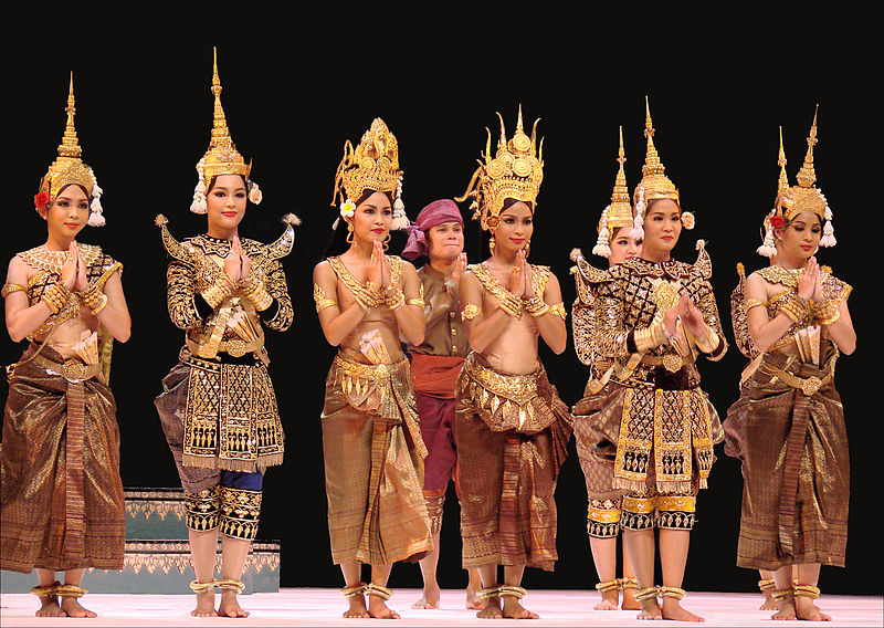 cambodian royal ballet dancers