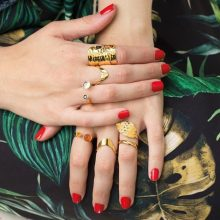 Emi & Eve rings