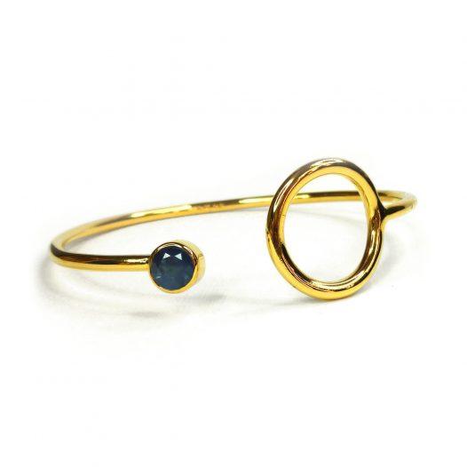 unity sapphire bangle