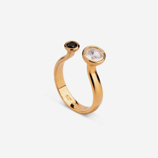 unity ring sapphire topaz