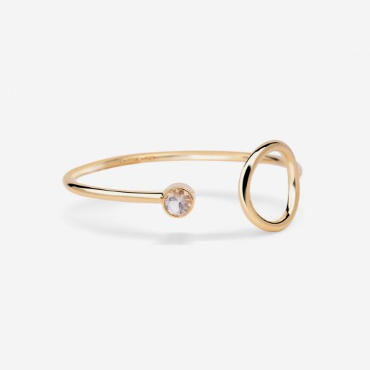 unity bangle topaz