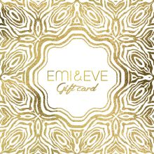Emi & Eve gift card