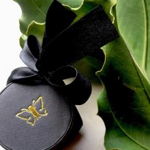 black jewellery gift box