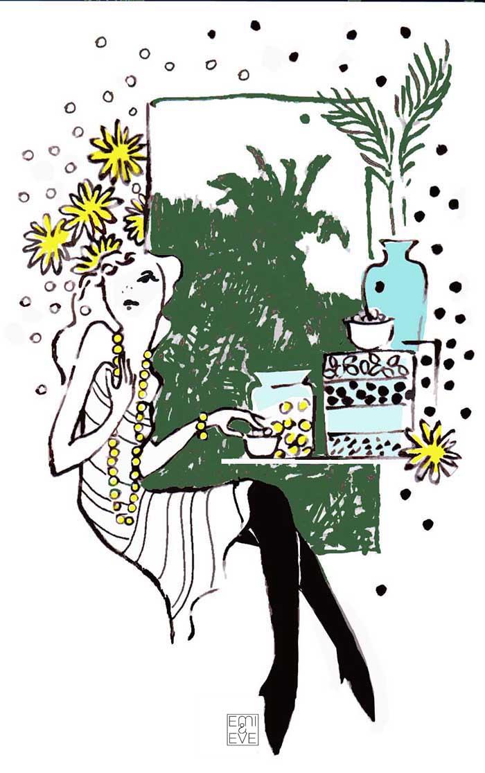 Emi & Eve illustration